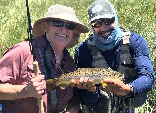 Hatch report for eastern sierra california trout fly for Sierra fishing report