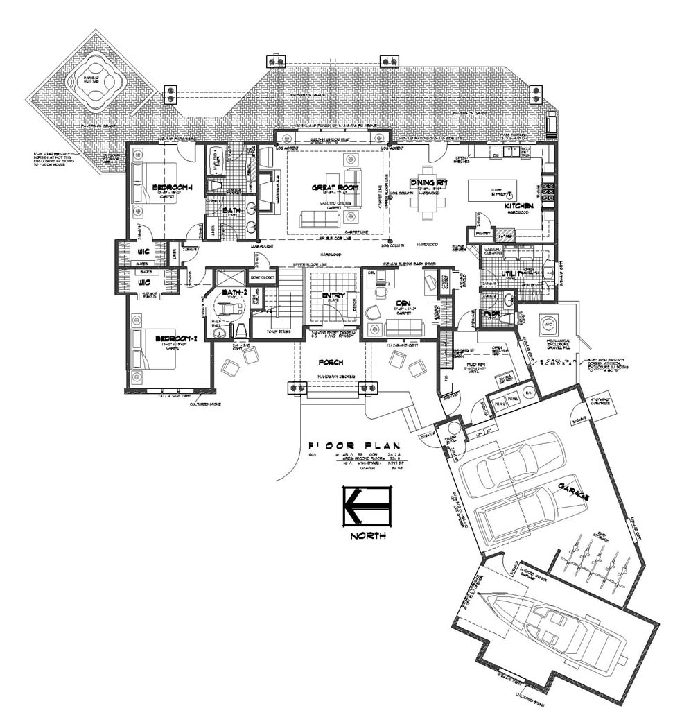 5 bedroom 4 5 bath sleeps 14 floor plans golf course Home design plans