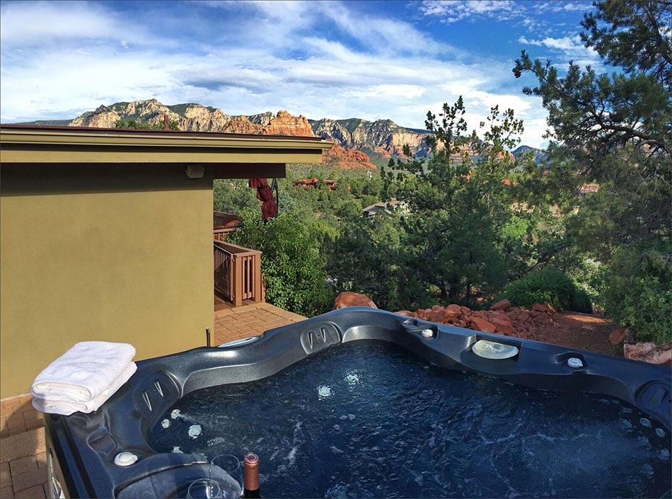 Sedona Vacation Home Rental 4 Bedroom 3 Full Bath Private