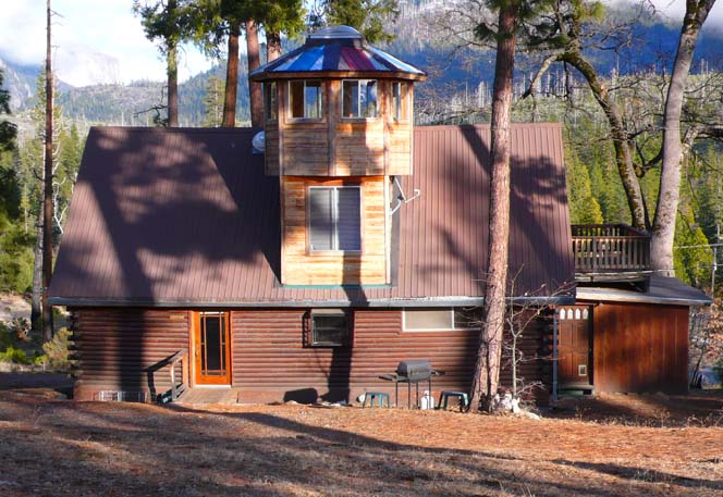Yosemite Log Cabin With Octogon Cupola Look Out Room